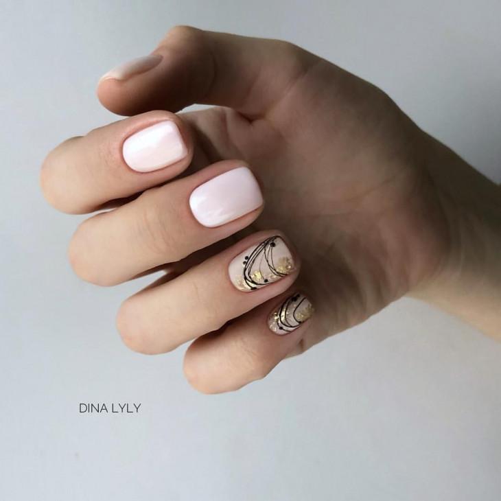 Ногти паутинка