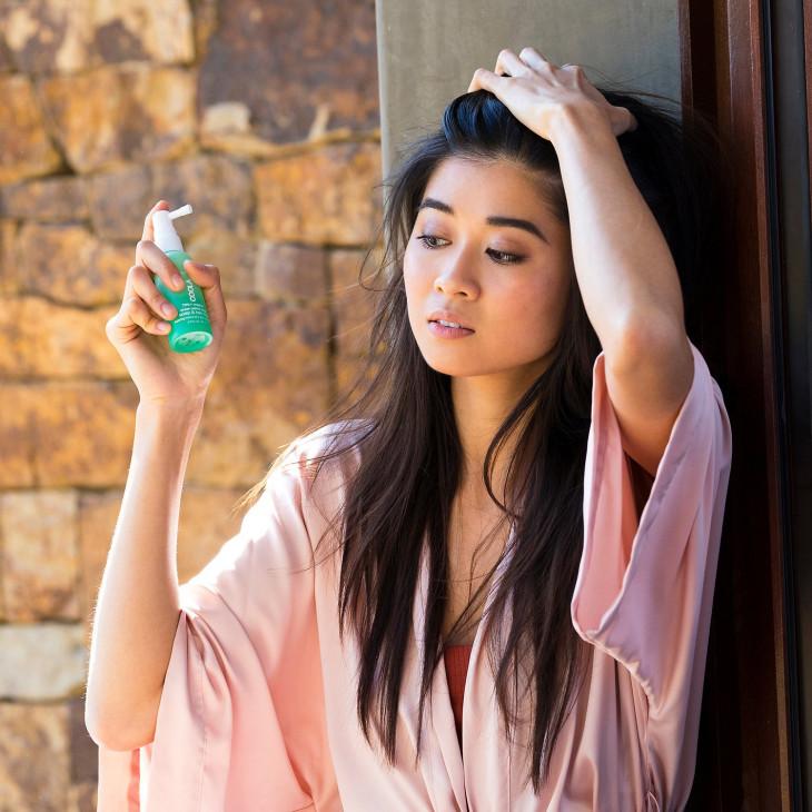 Средства с SPF для волос