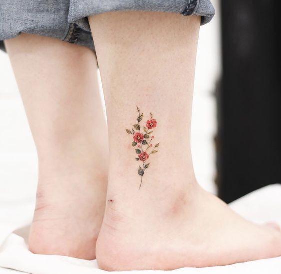 минималистичная татуировка