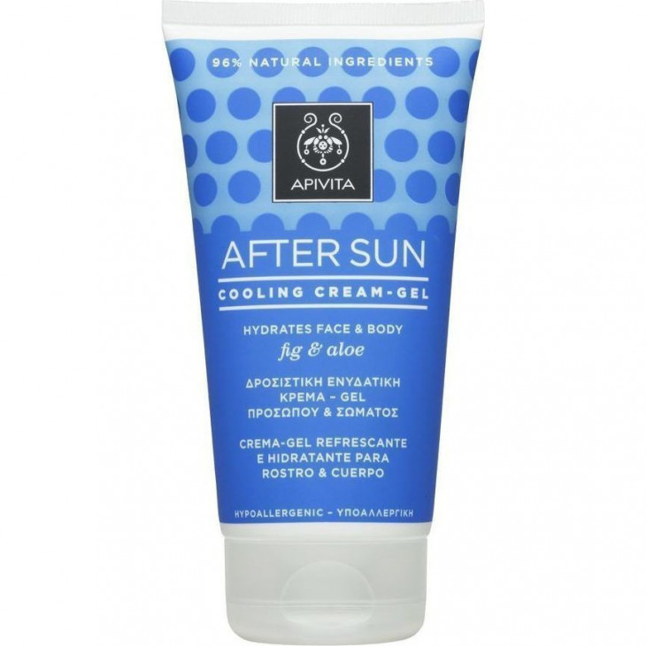 Apivita Sunbody After Sun Cooling Cream-Gel