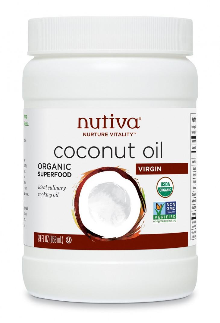 Кокосовое масло NutivaOrganic Virgin Coconut Oil
