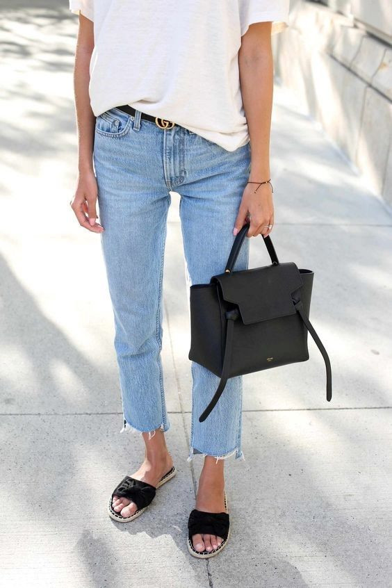 Модные джинсы на лето