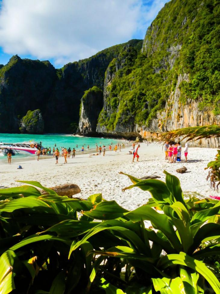 Майя Бэй Бич Maya Bay Beach, Таиланд