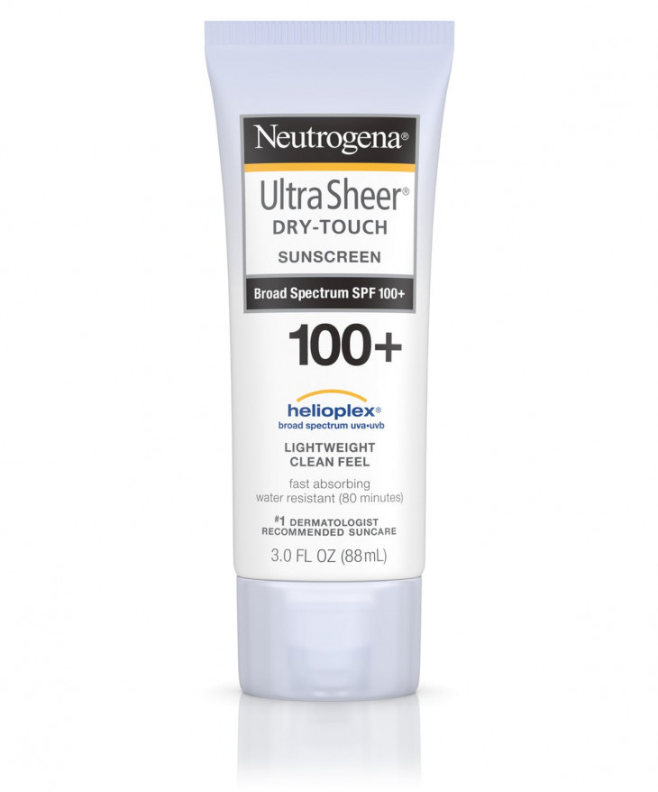Солнцезащитный крем Neutrogena Ultra Sheer Dry-Touch Sun-screen Broad Spectrum SPF100+