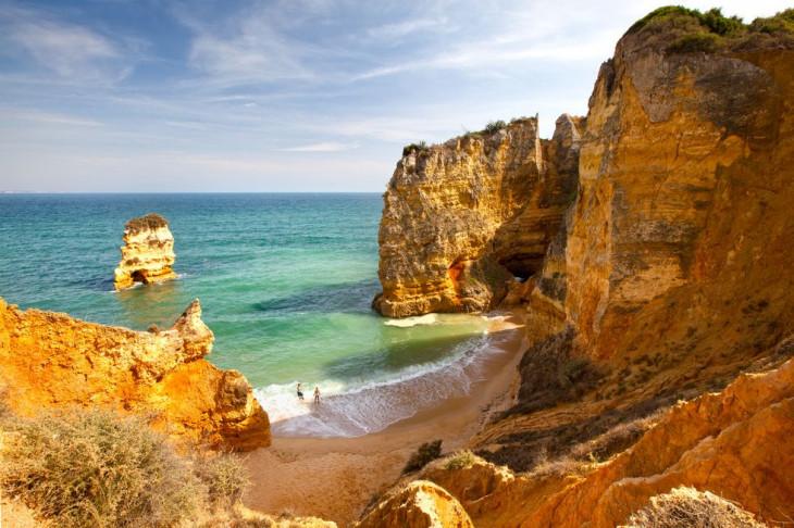 Praia Dona Ana, Португалия