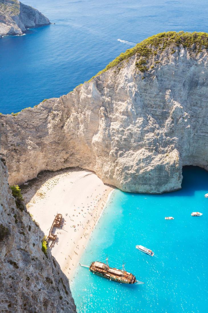 Navagio Beach, Греция