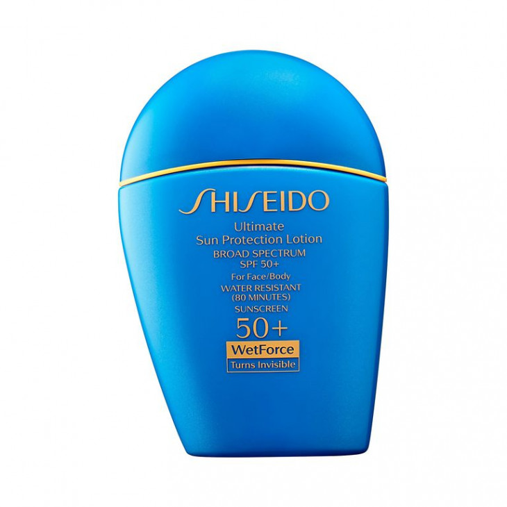 Shiseido Ultimate Sun Protection Lotion WetForce Broad Spectrum Sunscreen SPF 50+