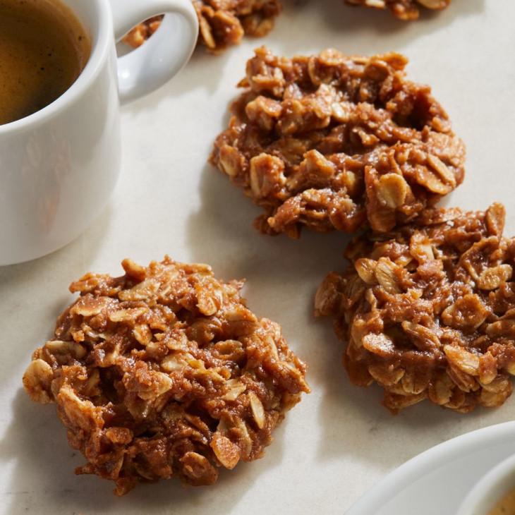 Веганское печенье без выпечки