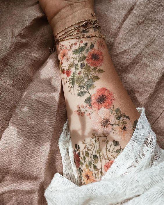 татуировка мак