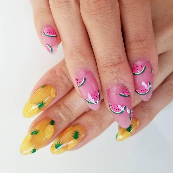 Фруктовые ногти