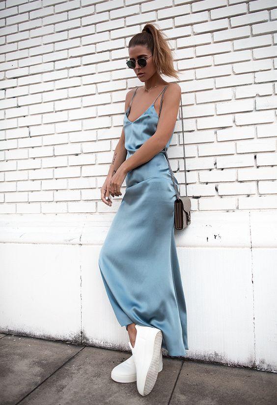 Платье комбинация как носить