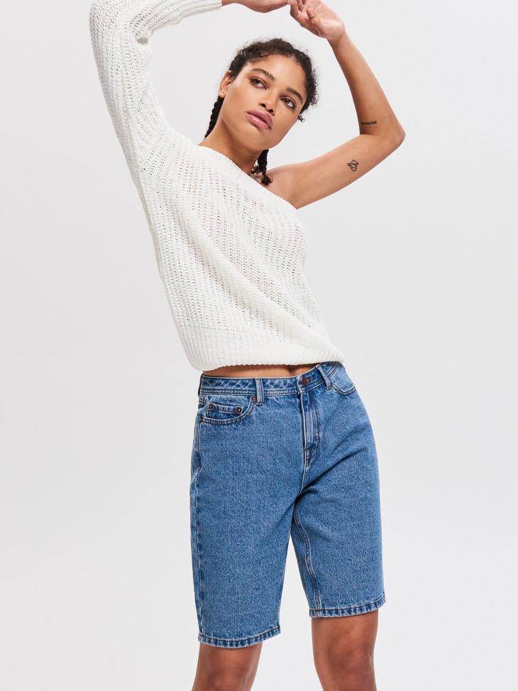 джинсовые бриджи резервд