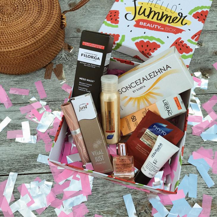 Бьюти-бокс премиум Hello Summer от Beauty.ua Box. Тест