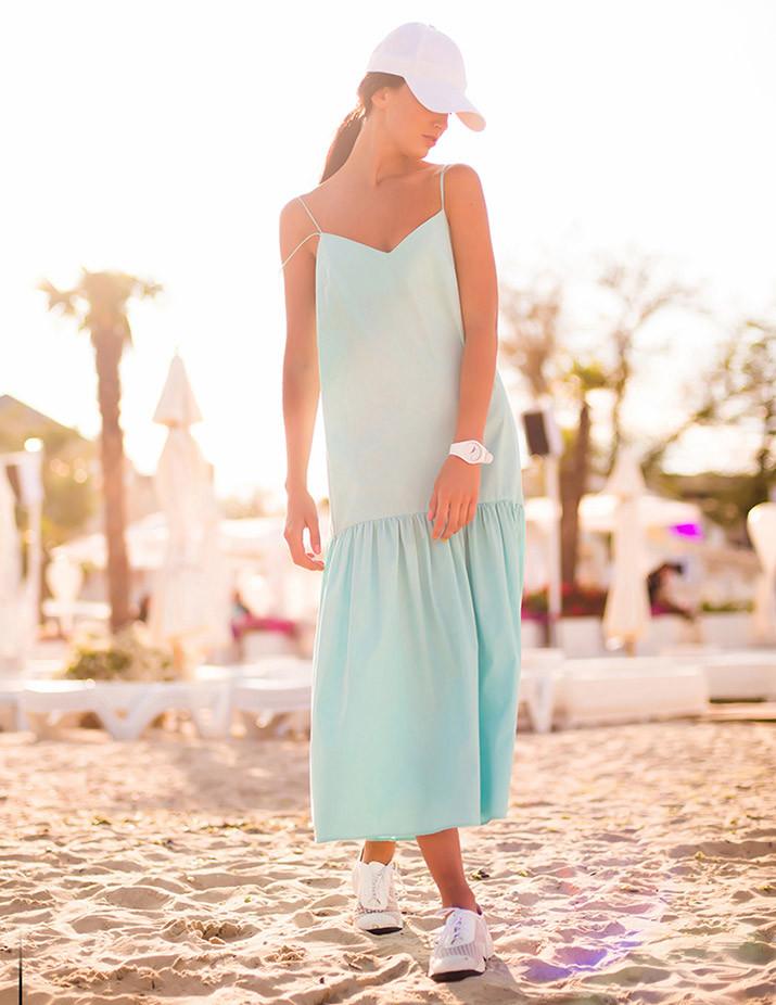 платье цвет тиффани Kriza