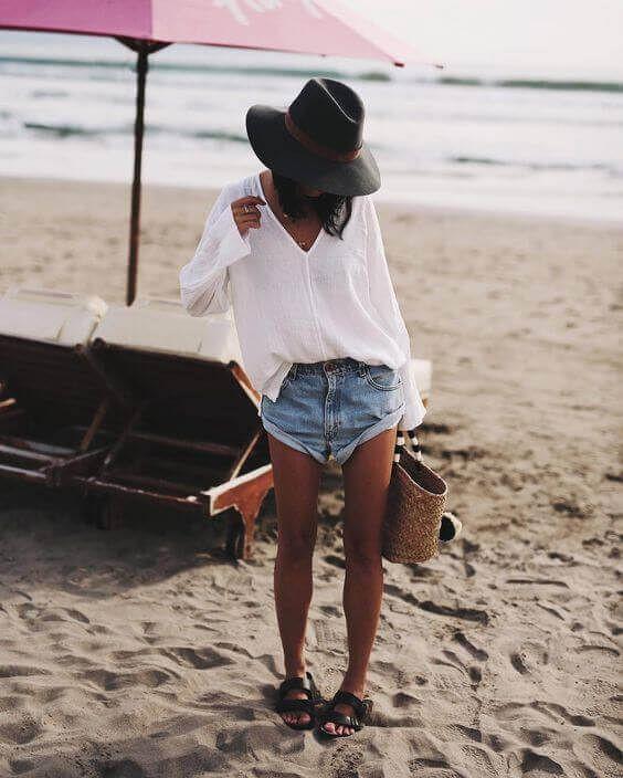 что надеть на пляж