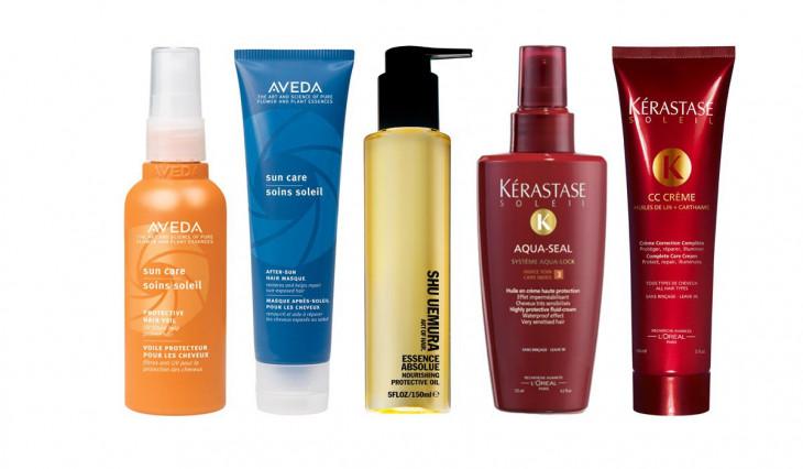 Восстанавливающие средства для волос после солнца