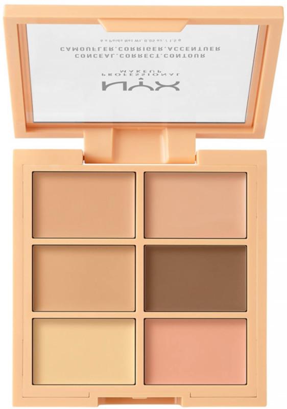 NYX Concealer Makeup Conceal Correct Contour Palette