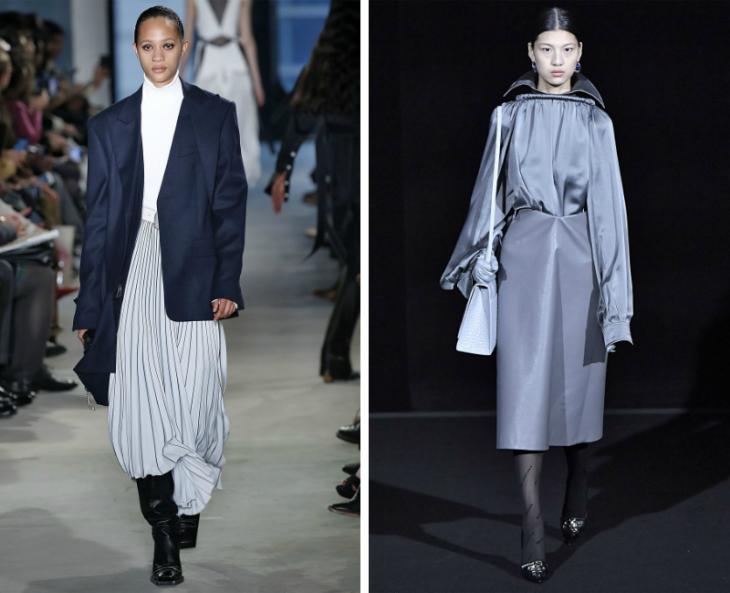 осенние тренды в одежде 2019