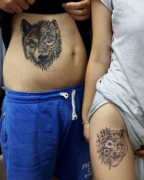 парное тату