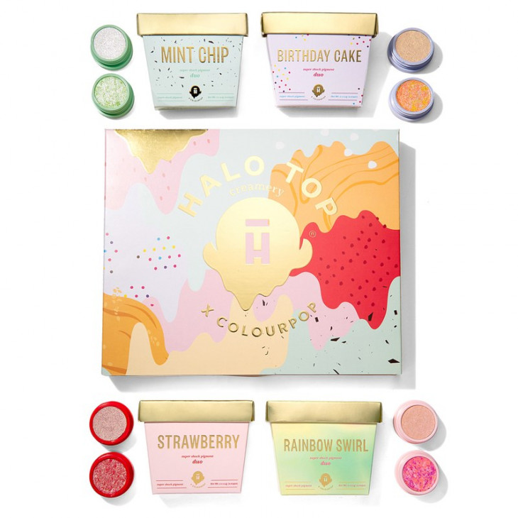 Colourpop x Halo Top Collection