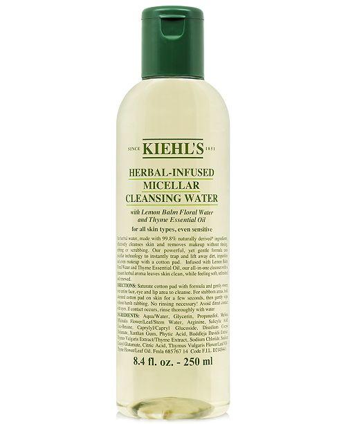 Kiehl`s Herbal-Infused Micellar Cleansing Water