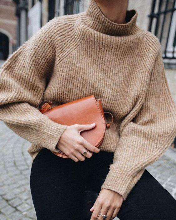 свитер осень