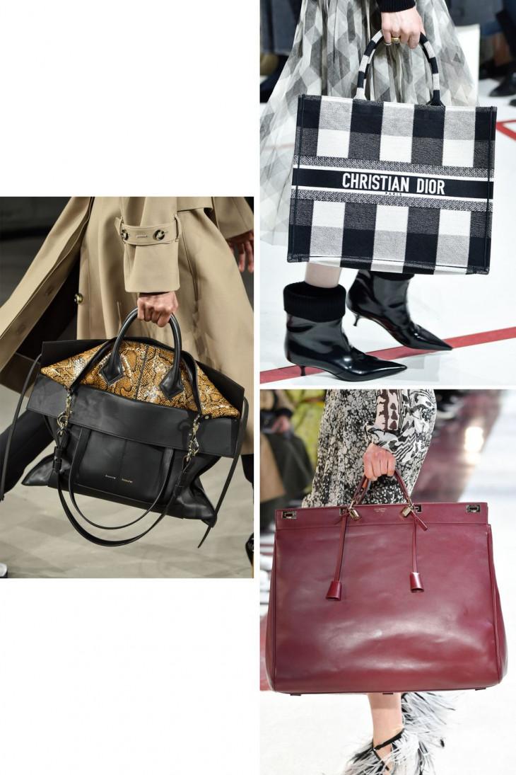 Модные сумки tote 2019