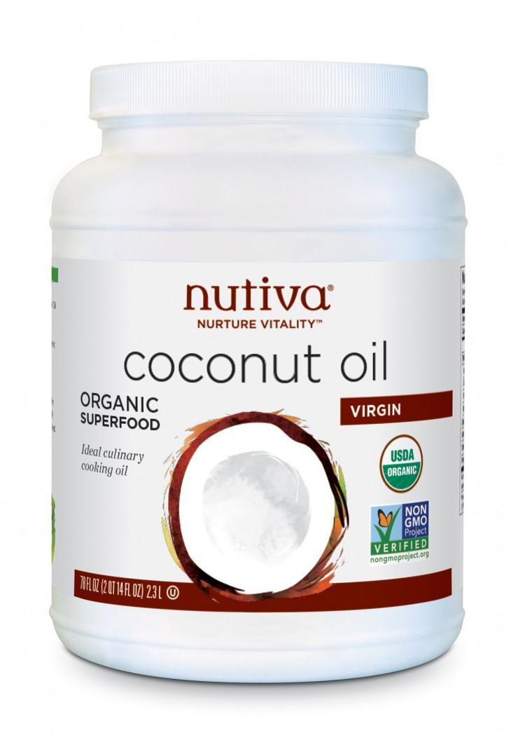 Кокосовое маслоOrganic Virgin Coconut Oil