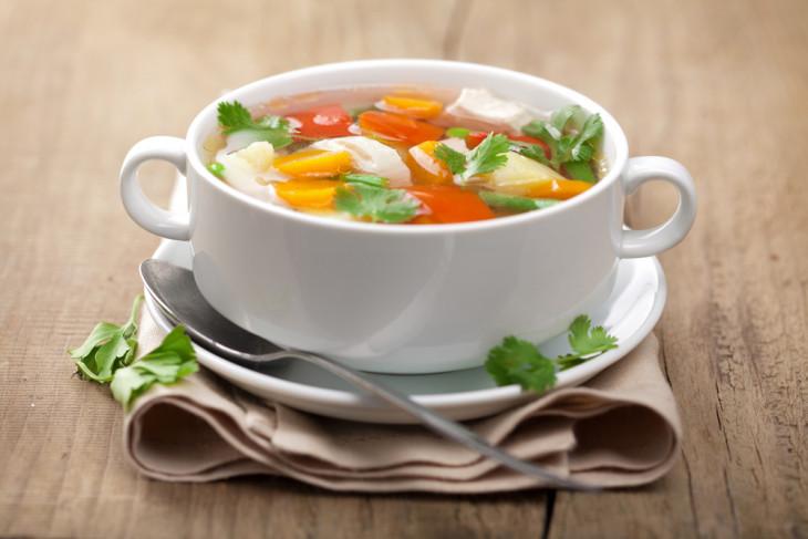 овощной суп, диета на овощах