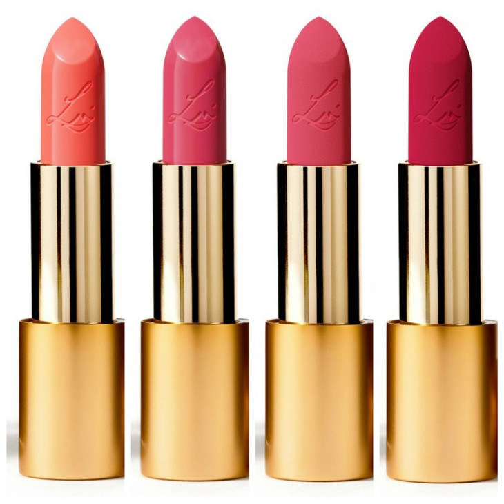 Lisa Eldridge Luxuriously Lucent and Insanely Saturated Lip Colours