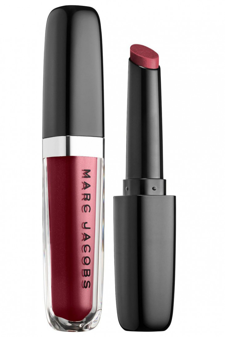 MARC JACOBS BEAUTY Enamored Hydrating Lip Gloss Stick, One Mauve Time