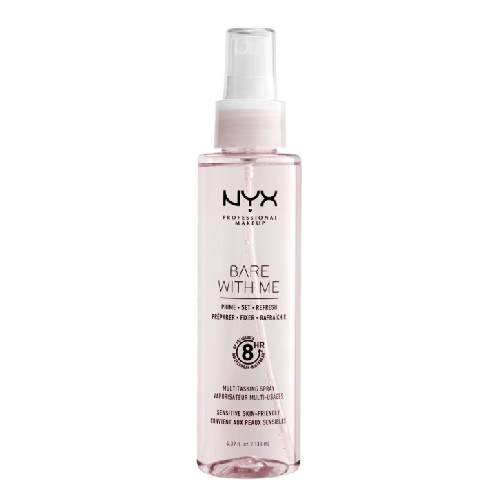 NYX Professional Makeup Bare With Me Prime-Set-Refresh Multitasking Spray