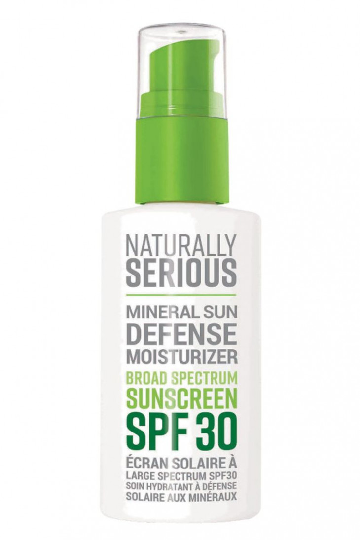 Naturally Serious Mineral Sun Defense Moisturizer