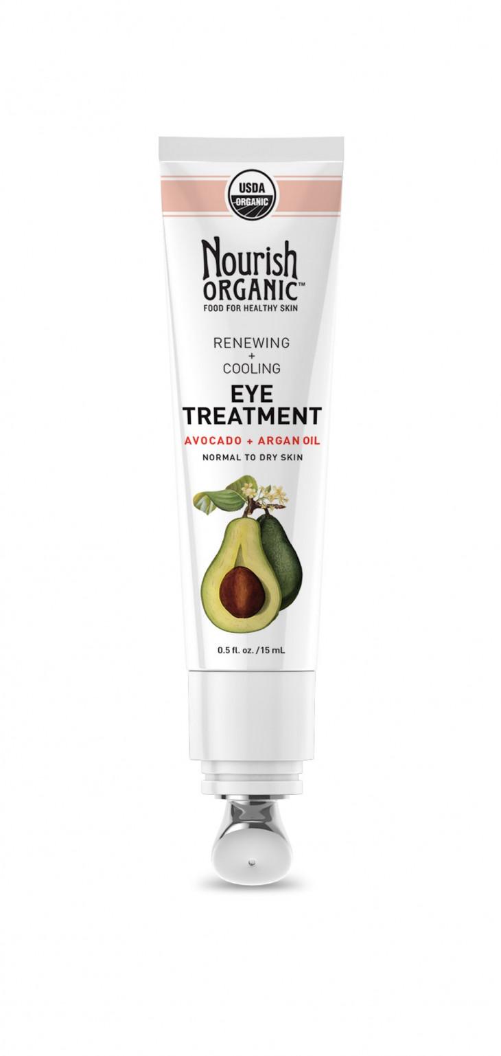 Nourish Organic Renewing Avocado & Argan Eye Cream