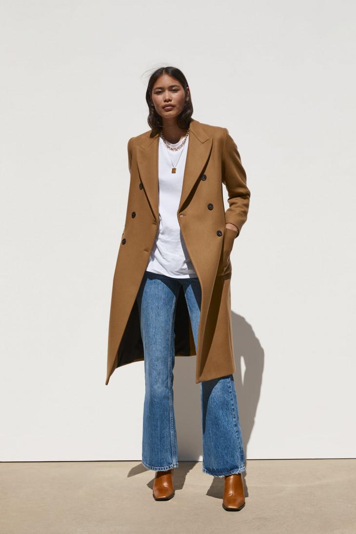 Удлиненное пальто Zara