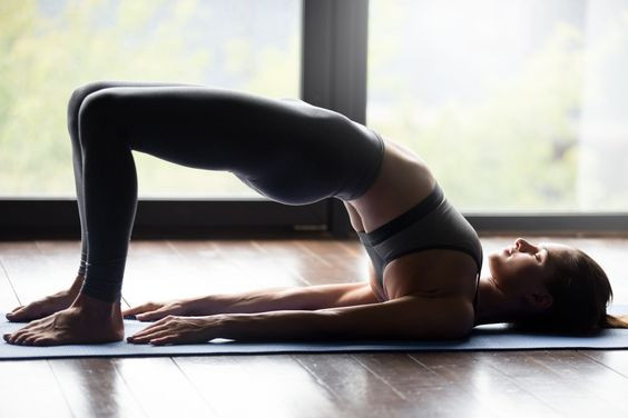 мост йога