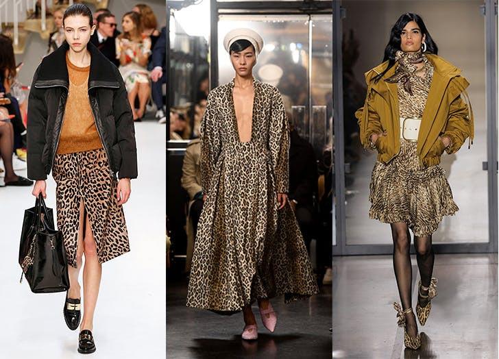 мода осень 2019