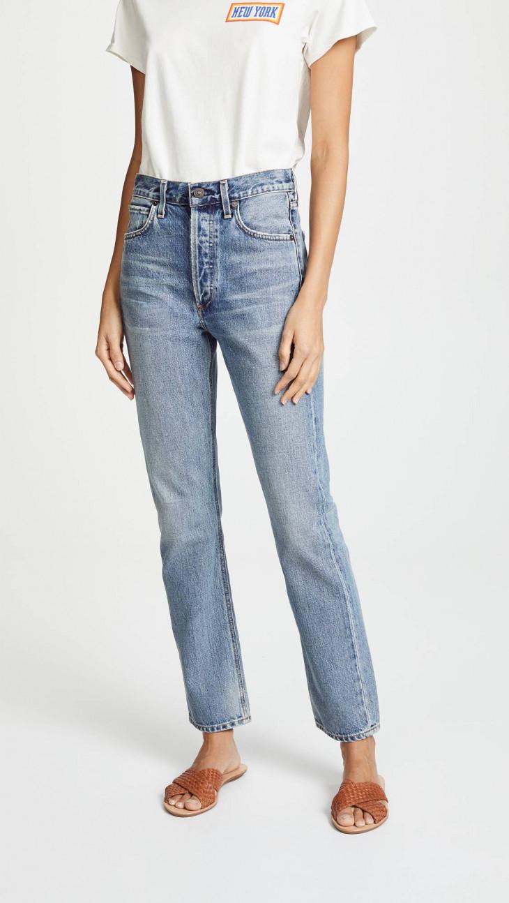 Citizens of Hummanity Прямые джинсы с высокой посадкой