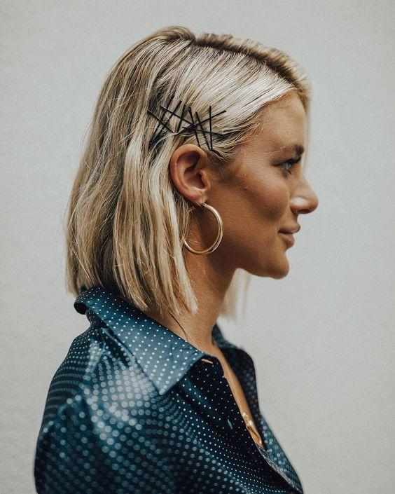 Модная укладка на короткие волосы