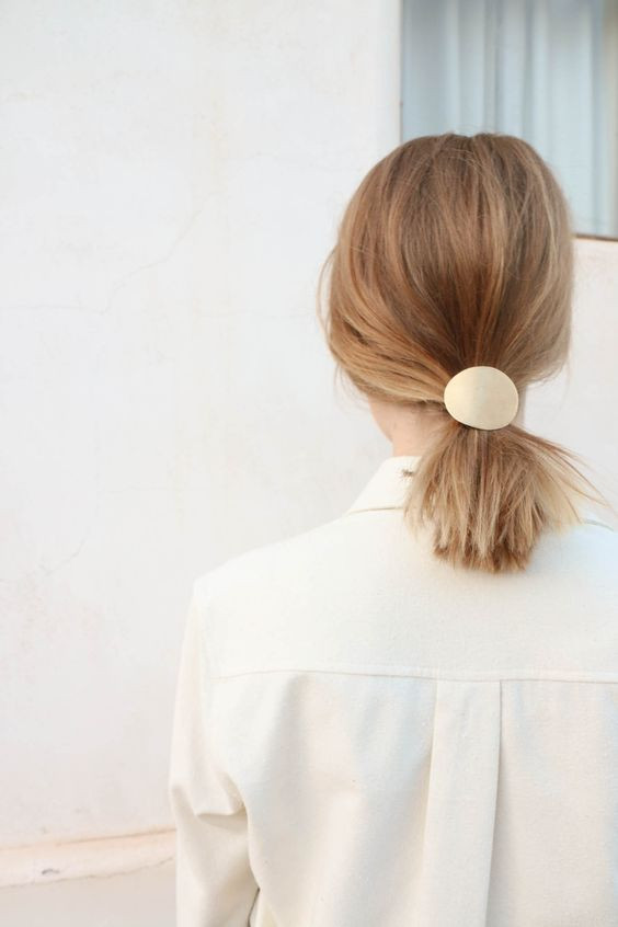 Хвост на короткие волосы