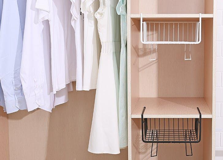 организация маленького шкафа