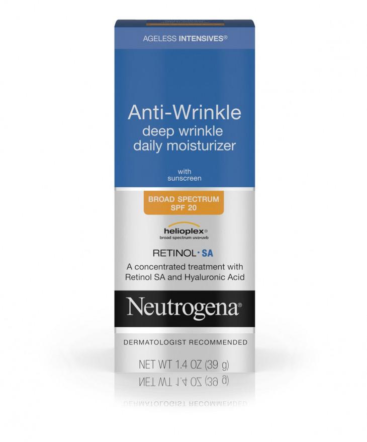 Neutrogena Anti-Wrinkle Deep Wrinkle Daily Moisturizer With Retinol SPF 20