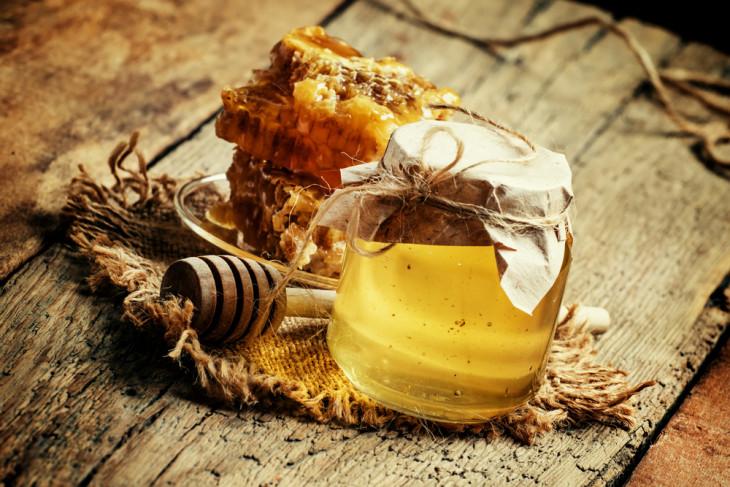 Скраб с мёдом