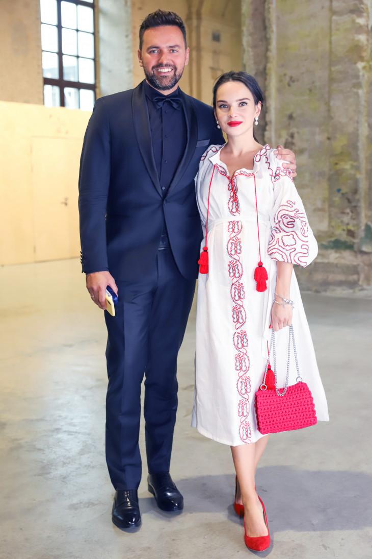 Тимур Мирошниченко с женой