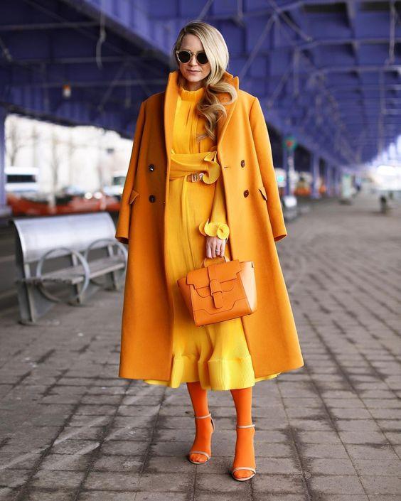 Оранжевый тотал лук