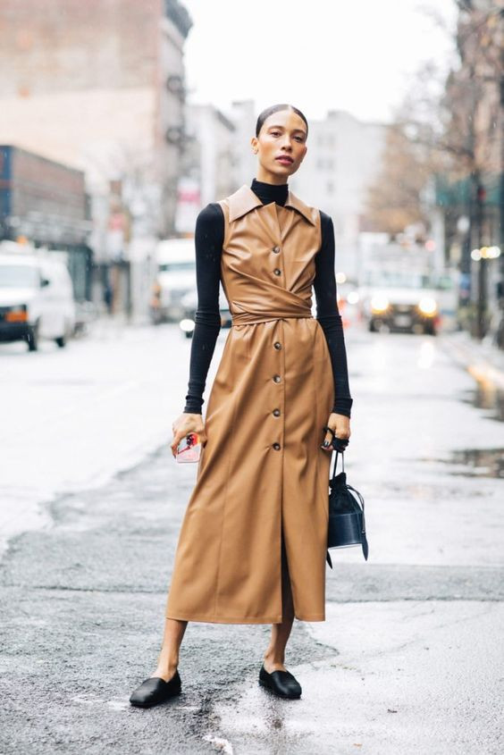 модное платье осень 2019