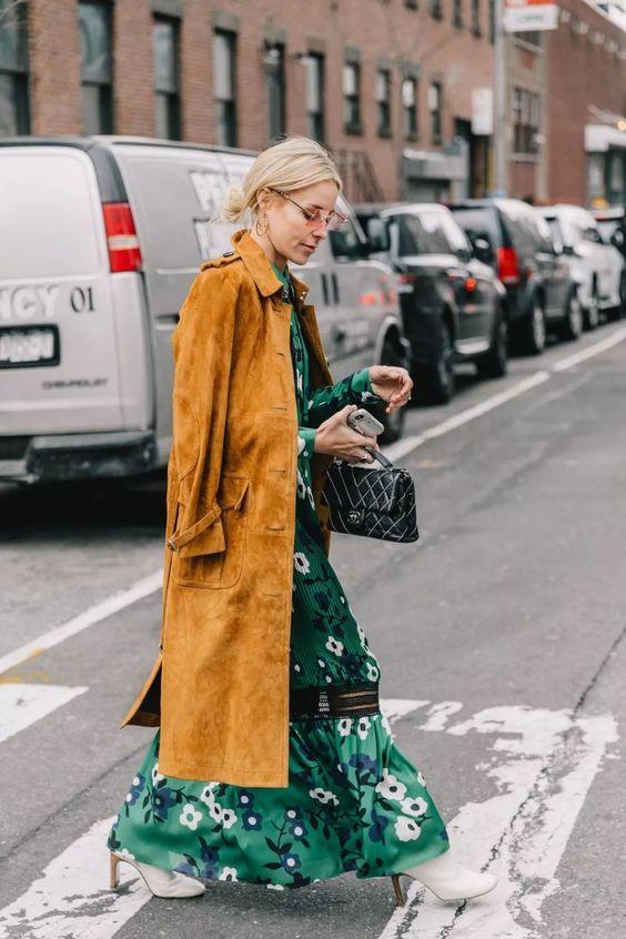 платье макси на осень