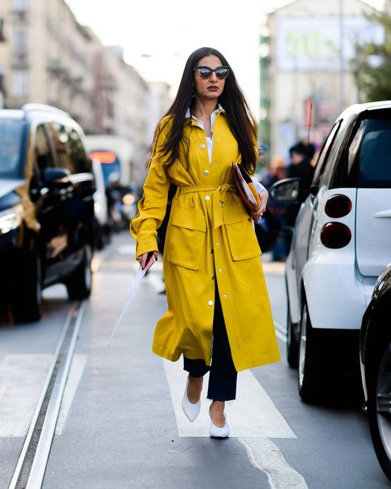 Как носить желтый в гардеробе