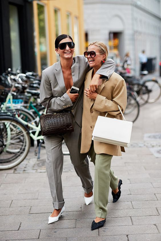 уличная мода в скандинавских странах