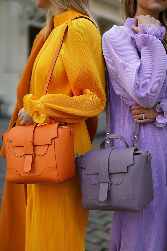 Модные цвета на осень 2019